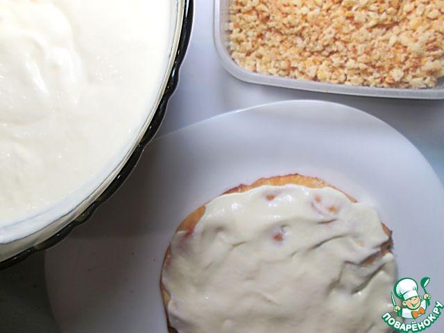 Рецепт творожного наполеона с пошагово