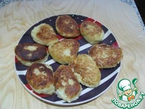 Рецепт Картофельно-капустные котлеты с жареным луком