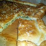 Пирог с сыром с плесенью