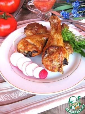 """Рецепт Куриные ножки в маринаде """"Три перца"""""""