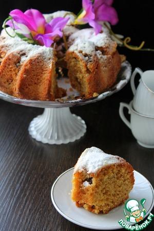 Рецепт Карамельный кекс с шоколадом