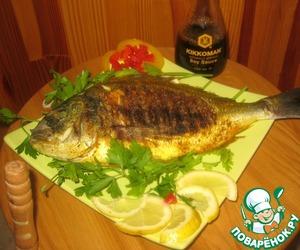 Рецепт Дорадо на гриле от шеф-повара