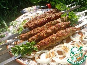 Рецепт Шашлык по-туркменски