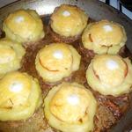 Котлеты нарядные с картофелем