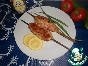 Рецепт Куриный кебаб