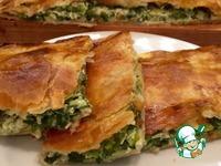 Пирог с зеленым луком ингредиенты