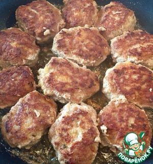 Рецепт Самые сочные мясные котлетки
