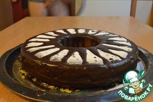 Рецепт Шоколадный кекс с изюмом