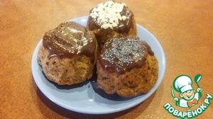 Рецепт Кексы с сухофруктами и орешками