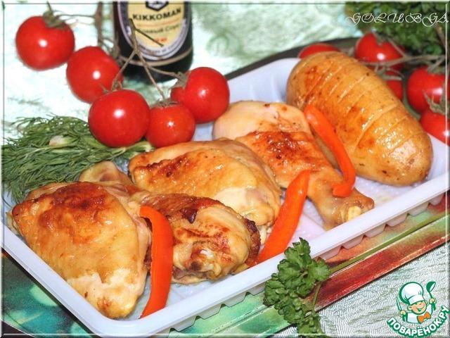 как приготовить в духовке на гриле рецепты