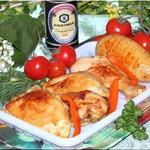 Курица гриль, маринованная в пиве