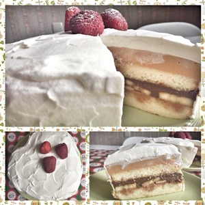 Рецепт Торт шоколадно-карамельно-сливочный