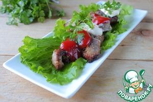 Рецепт Шашлык в духовке на шпажках из свинины