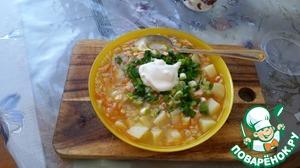 Как приготовить Суп из семги с перловкой простой пошаговый рецепт приготовления с фото