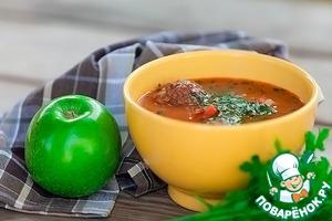Рецепт Тефтели в овощном соусе