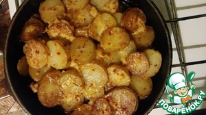 Рецепт Запеканка в кефире с сырной прослойкой