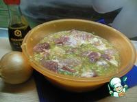Шашлык в луково-яичном маринаде ингредиенты