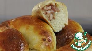 Пирожки со шпиком вкусный пошаговый рецепт с фотографиями
