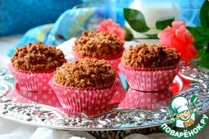 Рецепт Кексы ванильные со штрейзелем