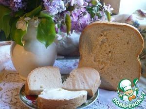 """Рецепт Белый хлеб на закваске в хлебопечке """" Вкус детства"""""""