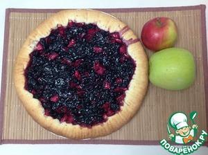 Рецепт Пирог с яблоками и вареньем
