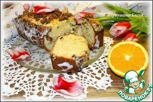 Рецепт Кекс сливочно-апельсиновый с шоколадными шариками