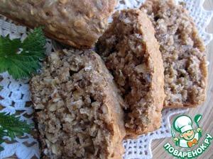 Рецепт Бездрожжевой хлеб из цельнозерновой муки