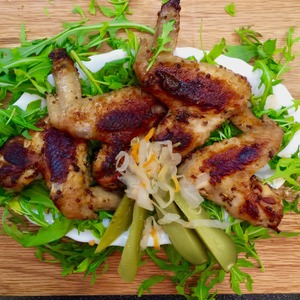 Рецепт: Крылышки по-мексикански