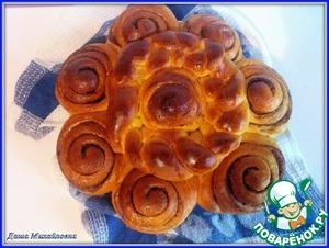 Рецепт Тыквенный постный пирог