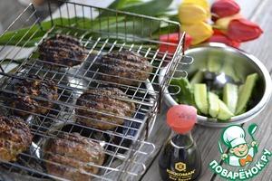 Как готовить Котлеты-микс на гриле простой рецепт приготовления с фото