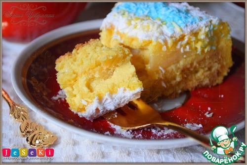 Бисквитный австрийский сырный торт