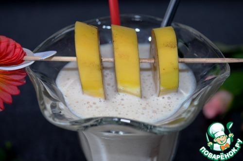 коктейль творог кефир банан