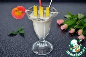 Рецепт Безалкогольный молочный коктейль