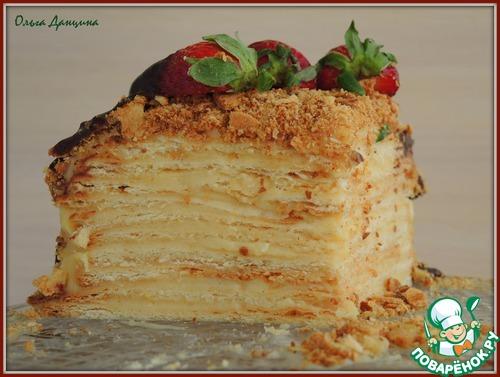 Наполеон духовке рецепт фото