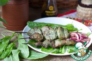 Рецепт Шашлык из свинины в щавелево-соевом маринаде