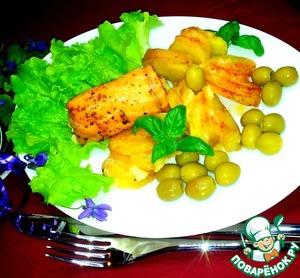 Рецепт Рулетики из лосося