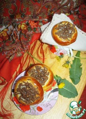 Рецепт Ватрушки с маком и ореховым штрейзелем