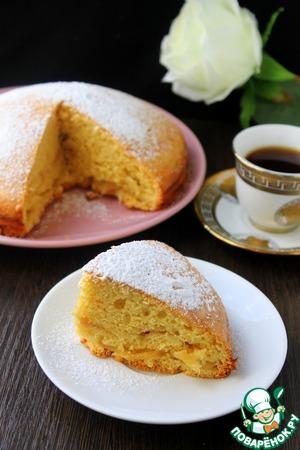 Рецепт Карамельная шарлотка