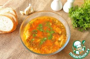 Рецепт Зеленый борщ со щавелем, яйцом и свеклой