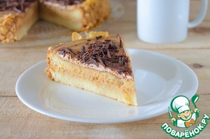 Рецепт Бисквитный торт с масляным кремом