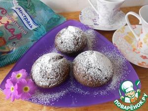 Как готовить Кексы шоколадные рецепт приготовления с фото пошагово