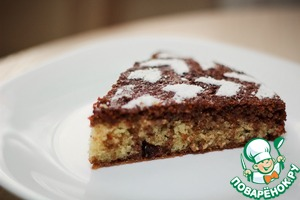 Рецепт Манник с изюмом и какао