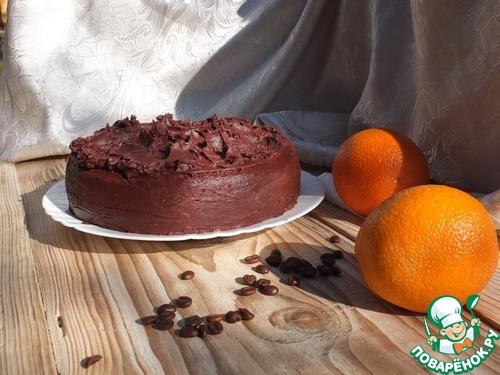 """Бисквит """"Пражский рассвет"""" домашний пошаговый рецепт приготовления с фотографиями как готовить #20"""