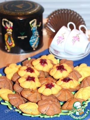 Шоколадно-цветочный бисквит домашний рецепт приготовления с фото пошагово как готовить