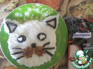 Рецепт Рисовая каша с изюмом и черносливом