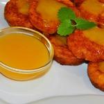 Оранжевые сырники с апельсиновым соусом