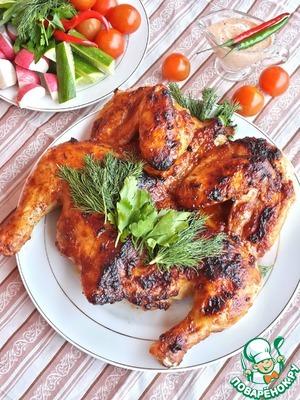 Рецепт Цыпленок-гриль в рассоле