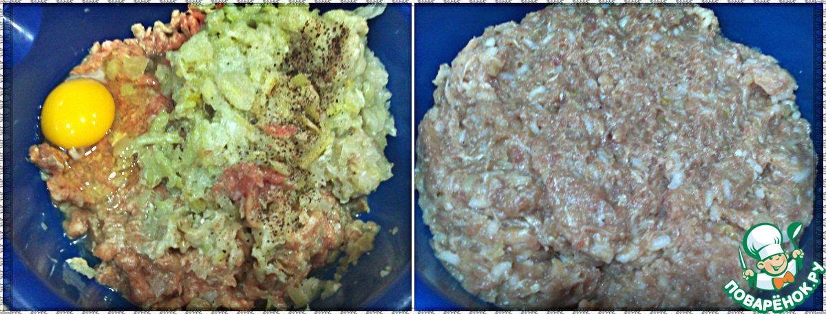 Ежики в сметанном соусе рецепт с фото