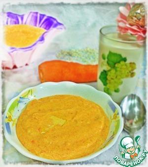 Готовим вкусный рецепт приготовления с фотографиями Рисовая кашка с морковкой