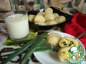 Рецепт Пызы с яйцом и луком